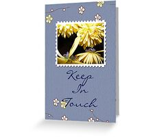 In Touch Greeting Card