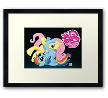 My Little Jiu Jitsu, BJJ is Magic Framed Print