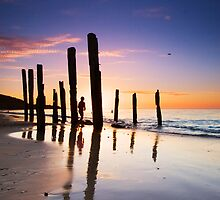 Port Willunga Sunset by KathyT