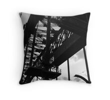 barbs of strength Throw Pillow