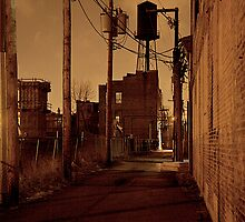 STREET SMART (WATER TOWER ALLEY) by martin venit