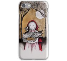 Little Red steals the Goose that laid the golden eggs (and they live happily ever after) iPhone Case/Skin
