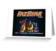 FazBear Greeting Card