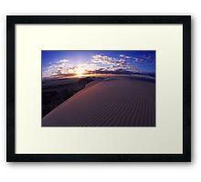 Cape Howe Sunrise Framed Print