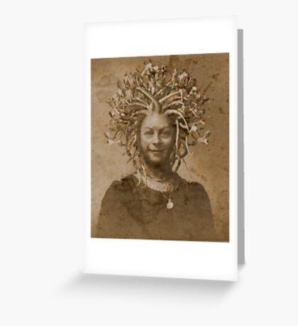 Lady Geraldine Harper Greeting Card