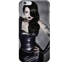 Violet Eyes - Dark Jessica 1 iPhone Case/Skin