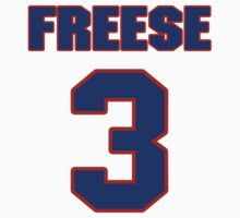 National football player Nate Freese jersey 3 by imsport