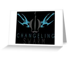 Changling Swarm Emblem Greeting Card
