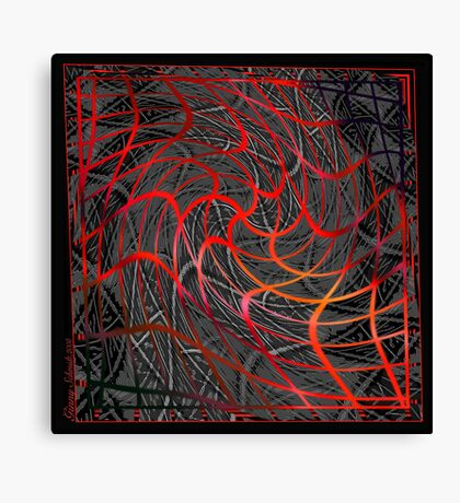 Web of Lies Canvas Print