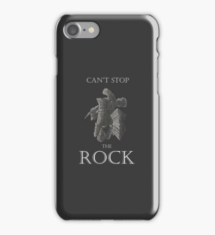Havel The Rock iPhone Case/Skin