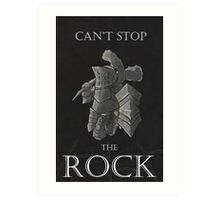 Havel The Rock Art Print