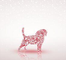 Puppy Christmas by James McKenzie