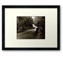 Swann Mill Road Framed Print