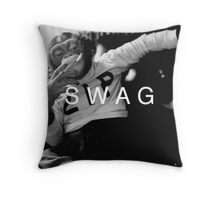 Swag Monkey Throw Pillow