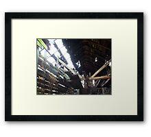 Aged Framed Print