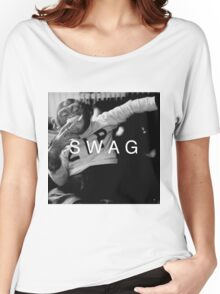 Swag Monkey Women's Relaxed Fit T-Shirt