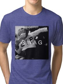 Swag Monkey Tri-blend T-Shirt