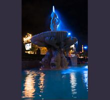 It's Not Rome - Triton Fountain Las Vegas at Night Unisex T-Shirt