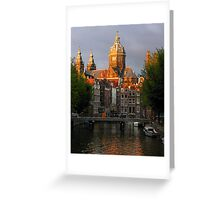 St. Nicolaaskerk Greeting Card
