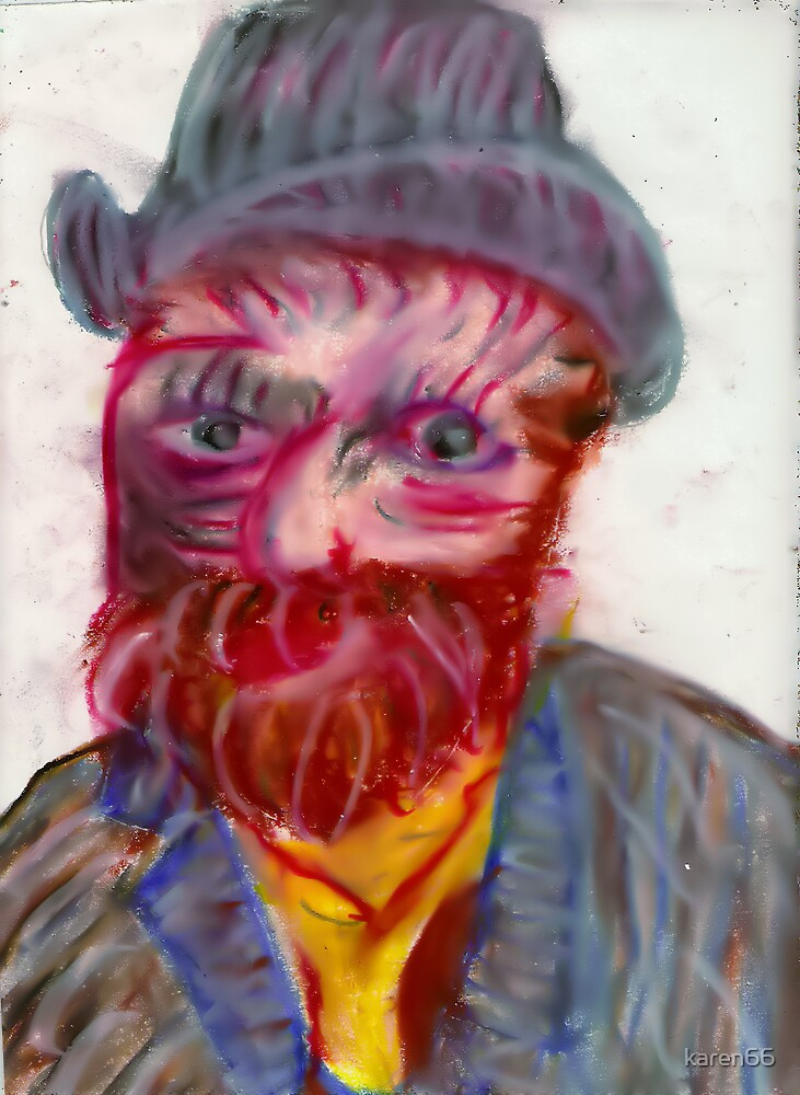 Portrait of Vincent Van Gogh by karen66