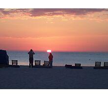 Sunset on St Pete Beach Photographic Print