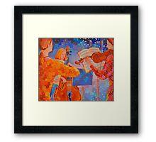 A Little Night Music, figurative Framed Print