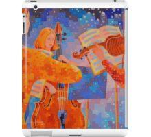 A Little Night Music, figurative iPad Case/Skin