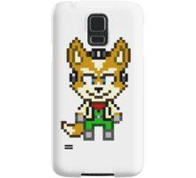 Fox McCloud - Star Fox Team Mini Pixel Samsung Galaxy Case/Skin