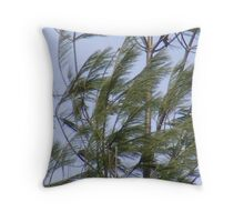 wind storm Throw Pillow