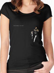Prepare To Die Women's Fitted Scoop T-Shirt