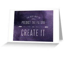 Create the Future Greeting Card