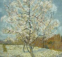 Vincent van Gogh - De roze perzikboom (The Pink Peach Tree) - 1888 by forthwith