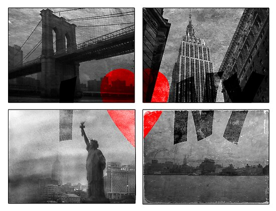 I heart NYC by Jeff Davies