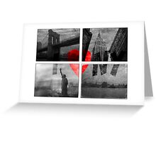 I heart NYC Greeting Card