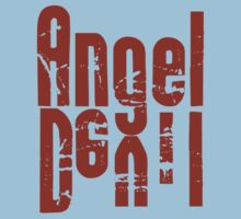 Angel Devil Red Letter by Ryan Houston