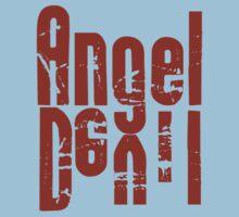 Angel Devil Red Letter by Ryan Houston