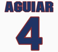 National football player Louie Aguiar jersey 4 by imsport