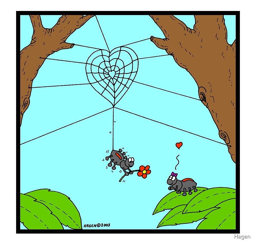 Spider Love by Hagen