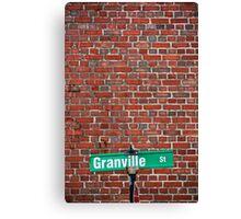 Granville Canvas Print