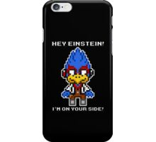 Falco Lombardi -Hey Einstein! iPhone Case/Skin