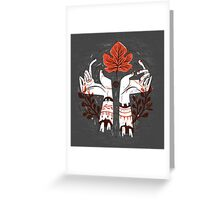 Severed Hands Greeting Card