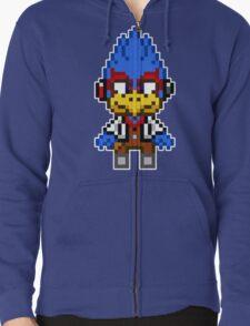 Falco Lombardi - Star Fox Team Mini Pixel T-Shirt