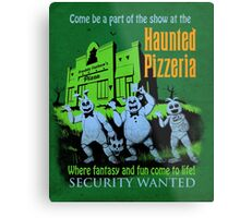 The Haunted Pizzeria Metal Print