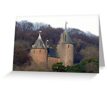 Fairy tale castle Greeting Card
