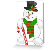 i I heart Christmas Santa Claus   Greeting Card