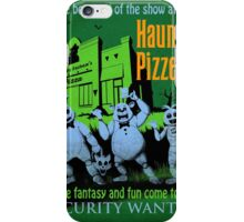 The Haunted Pizzeria iPhone Case/Skin