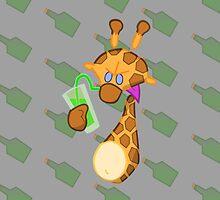 Evil Giraffe by StudioColrouphobia