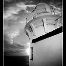 LightHouse - Black & White by David Amos