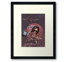 Spice Girl and the Barbarians Framed Print