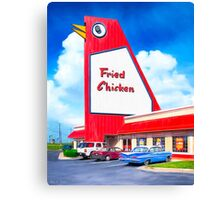 The Big Chicken - Marietta Georgia Landmark Canvas Print